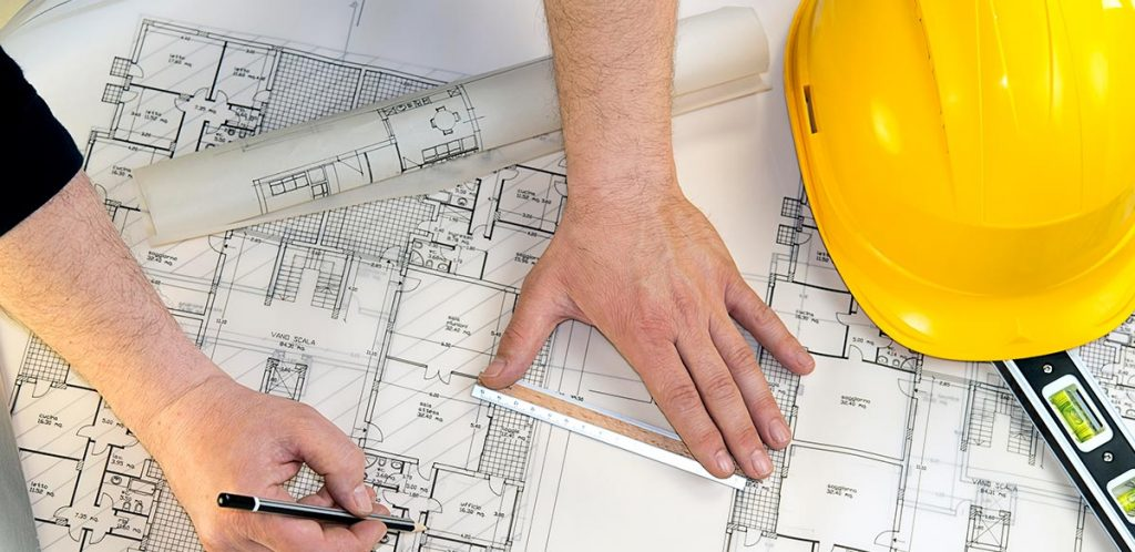 Accredited installers - an architect with plans