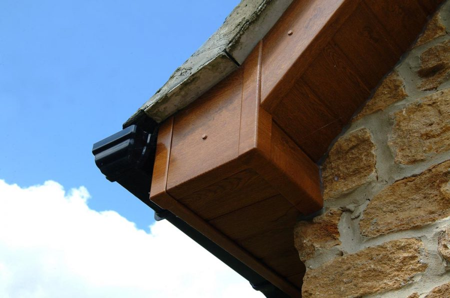 Replacement bargeboard for residential property