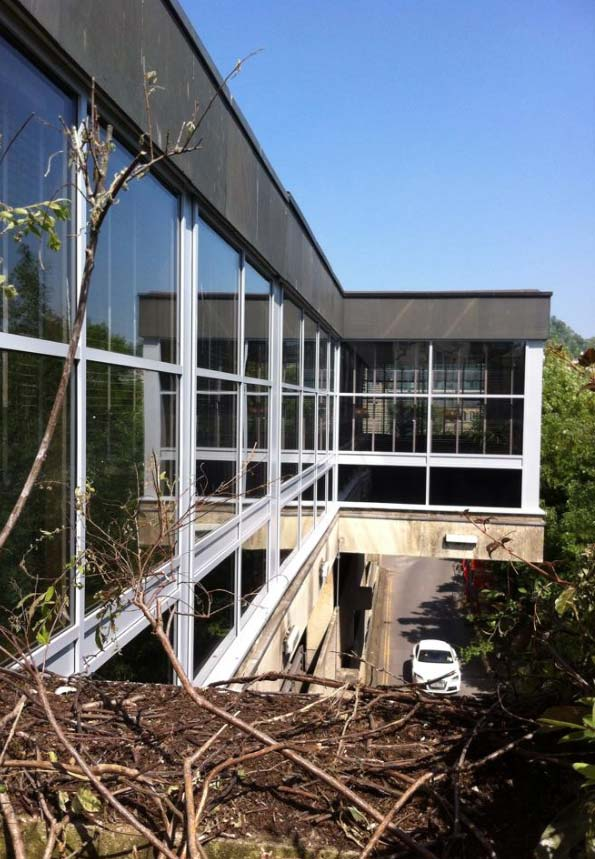 Commercial aluminium window wall