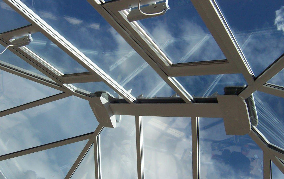 uPVC conservatory roof system