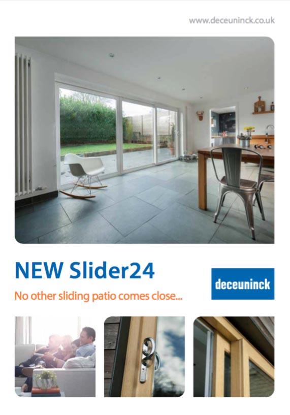 Deceuninck Slider24 brochure