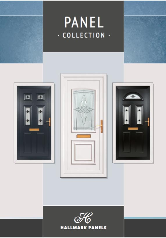 Hallmark PVCu door panels brochure