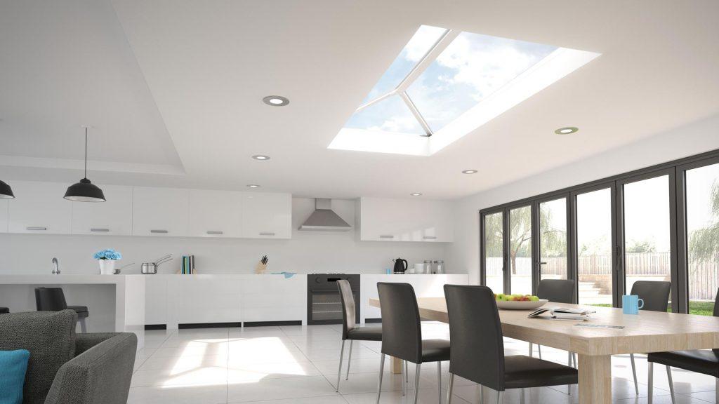 Lantern roof system