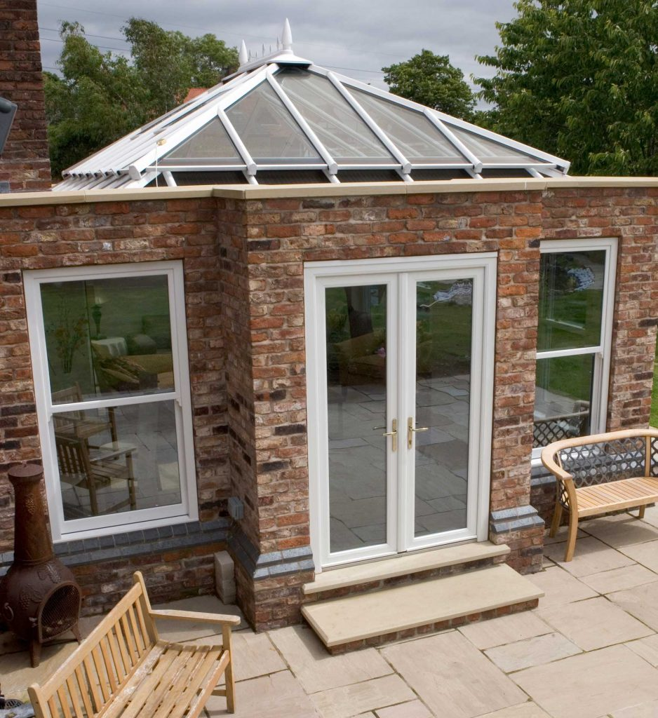 Large orangery extension for residential property