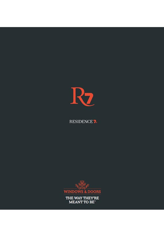 Residence Collection R7 windows Brochure