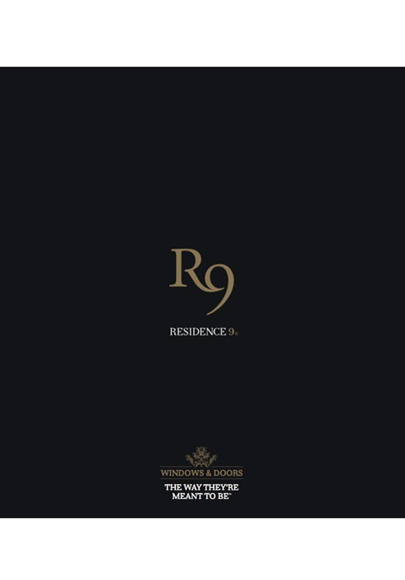 Residence Collection R9 windows Brochure