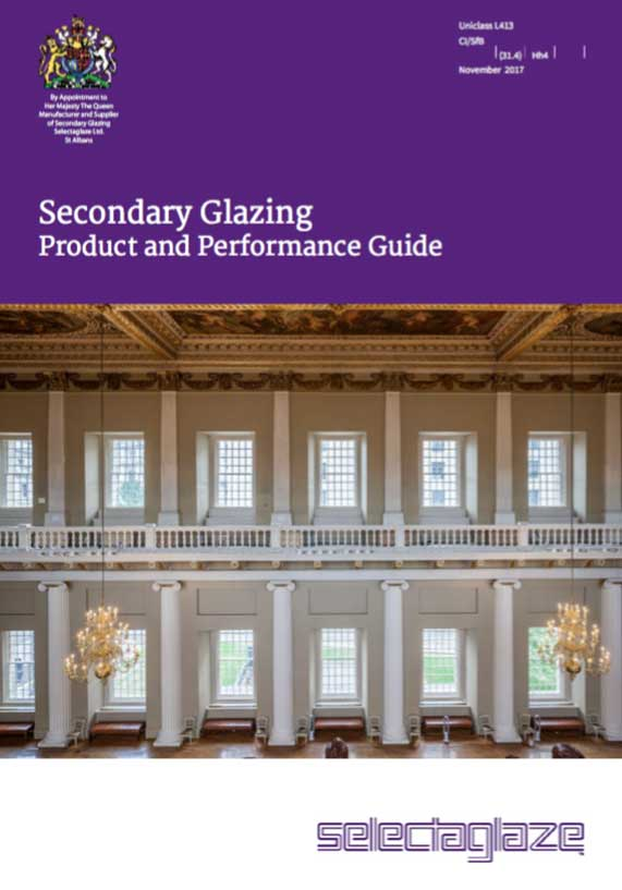 Selectaglaze secondary glazing brochure