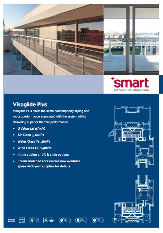 Smart Visoglide Plus door brochure