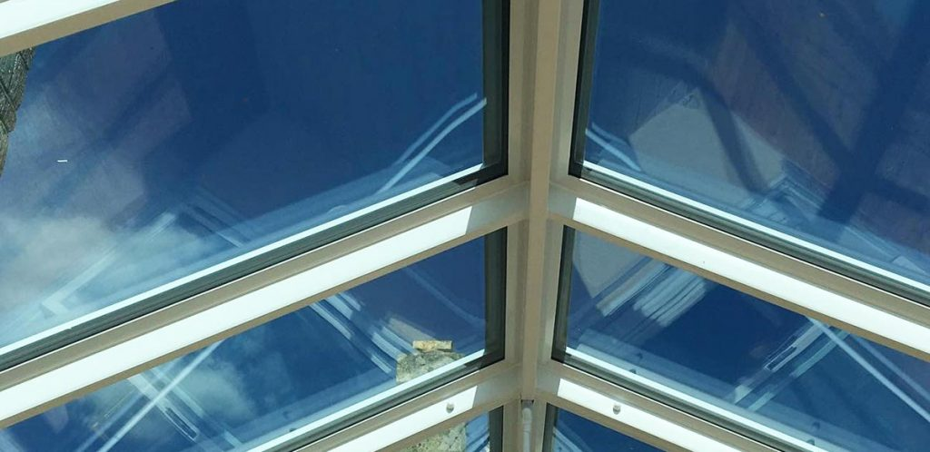 Solar control conservatory glass