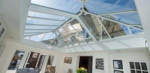 Conservatory roof with solar control glazing supplied and installed