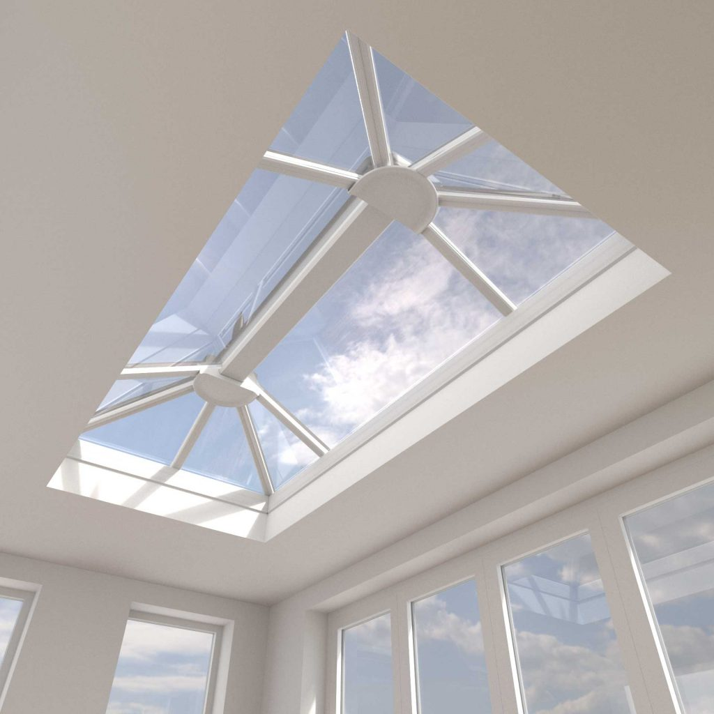 uPVC lantern roofs manufactured using synseal's stratus system