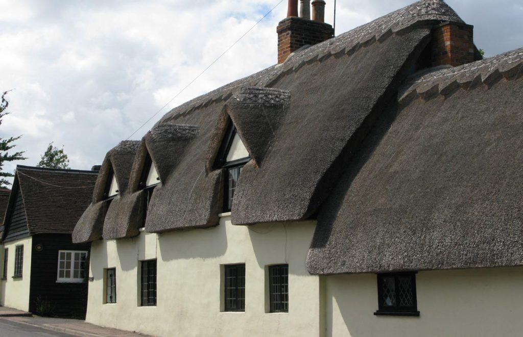 A traditional thatched cottage project in which secondary glazing was installed
