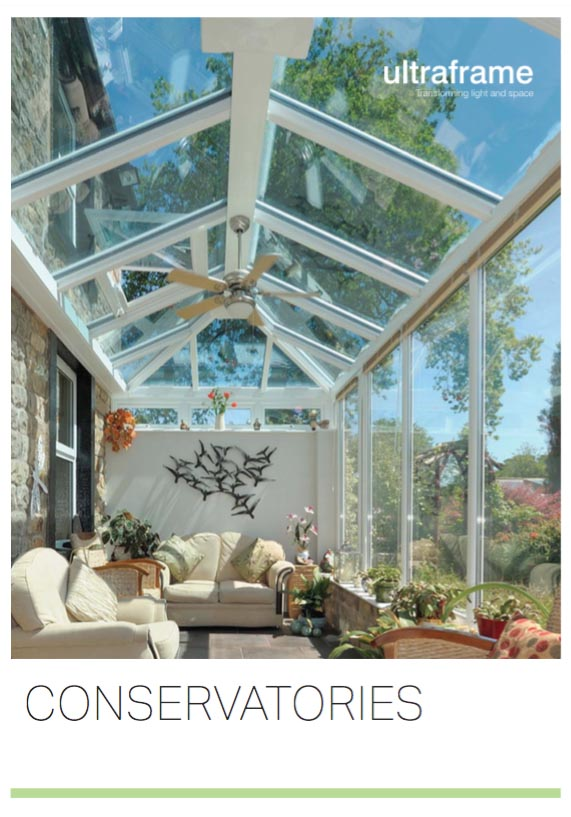 Ultraframe Conservatories brochure