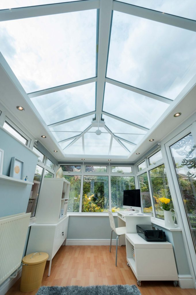 uPVC conservatory internal view