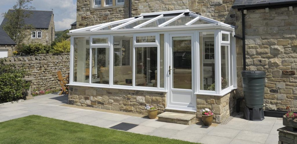 uPVC framed conservatory supplied and installed