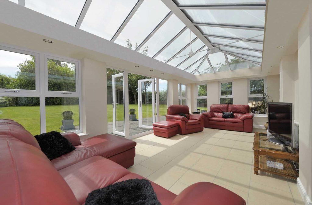 uPVC orangery glazed roof system