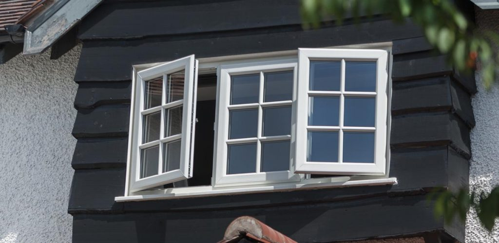 uPVC windows with georgian bars