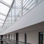 Commercial project where aluminium windows and doors were utilised