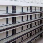 Black aluminium windows and doors for large project