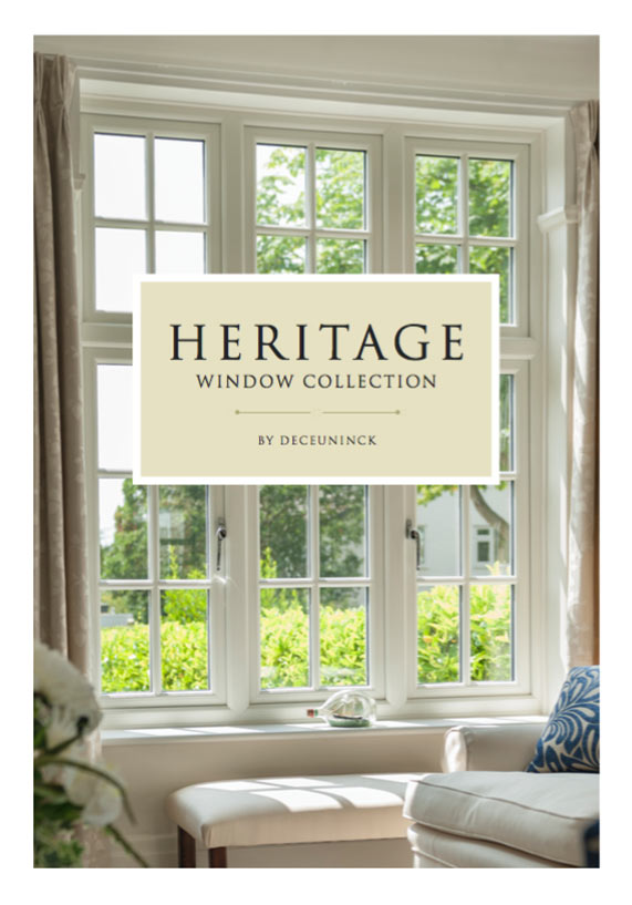 Deceuninck Heritage window brochure
