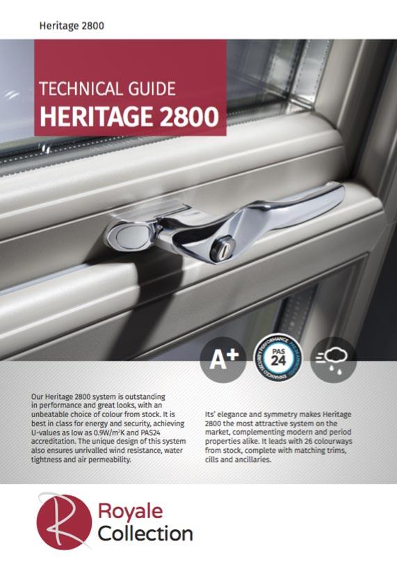 Royale heritage 2800 Deceuninck brochure