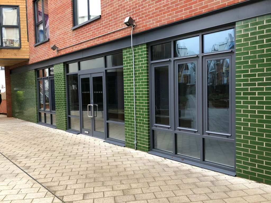 Aluminium Casement Windows And Doors Installed For Commercial Project In  Bristol