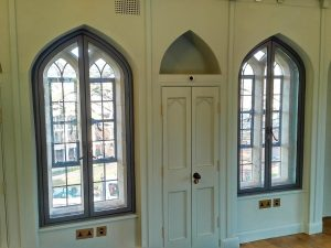 Secondary glazing for Grade 2 listed building refurb - Lower Lodge Gate in Bristol