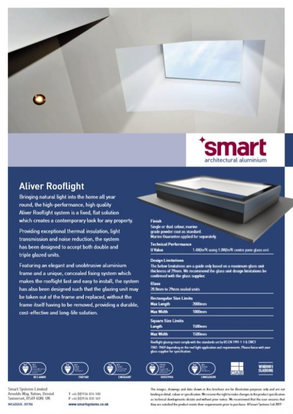 Smart aliver roof light