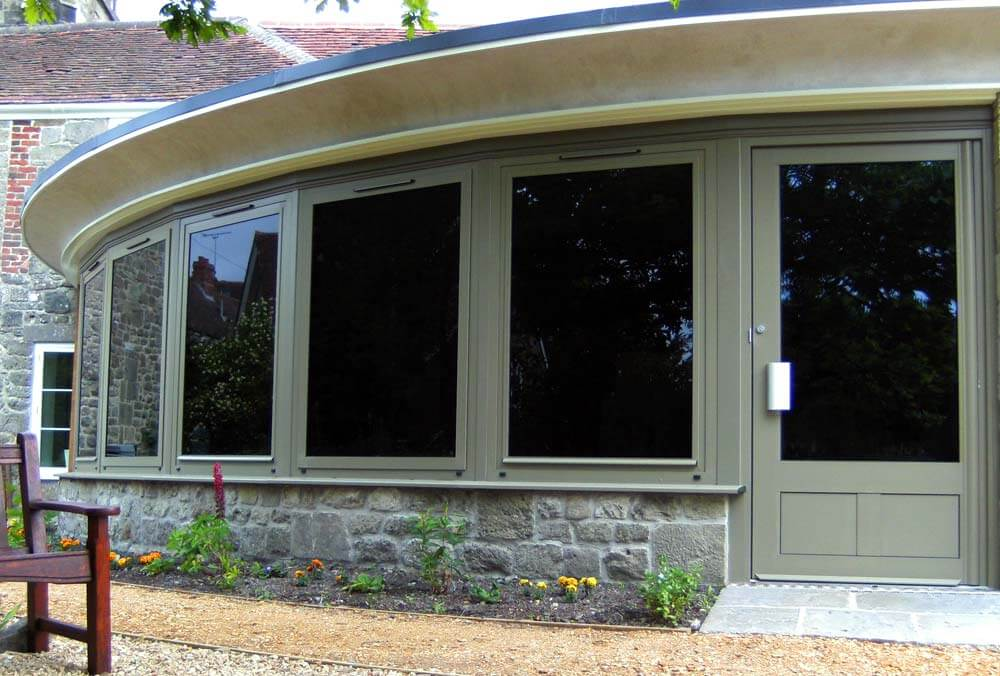 green-aluminium-windows